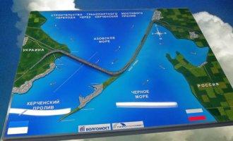 Доставка строительных материалов для Керченского моста будет производиться  ...
