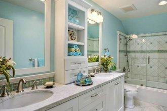 Организация душевой зоны в маленькой ванной комнате