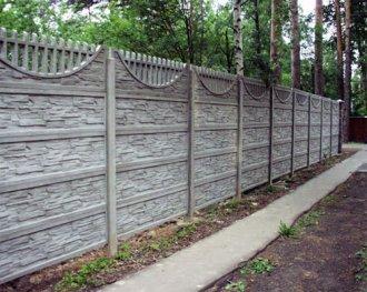 Монтаж бетонных заборов: понятно и доступно