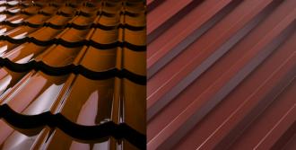 В чем разница между профнастилом и металлочерепицей
