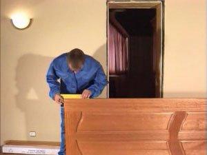 Порядок и правила установки межкомнатных дверей