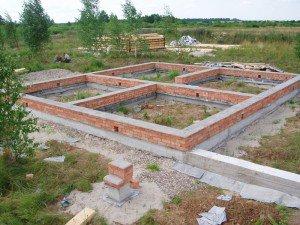 Распространенные ошибки при строительстве фундамента