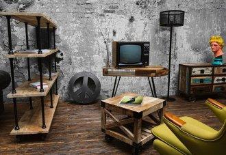 История появления мебели в индустриальном стиле