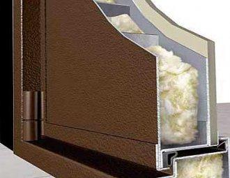 Наполнители для металлических входных дверей