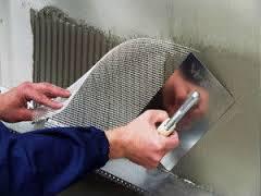 Штукатурка стен с применение штукатурной сетки