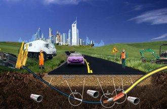 Прокол под дорогой: особенности выполнения работ