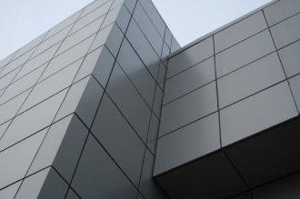 Фасадные кассеты в строительстве зданий