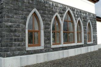 Гранитная облицовка частного дома: особенности и возможности натурального к ...