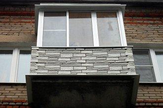 Материалы для наружной отделки балкона