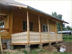 Как построить деревянную веранду?