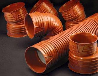 Применение гофрированных труб в системах внешней канализации