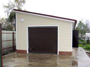 Из чего можно построить гараж?