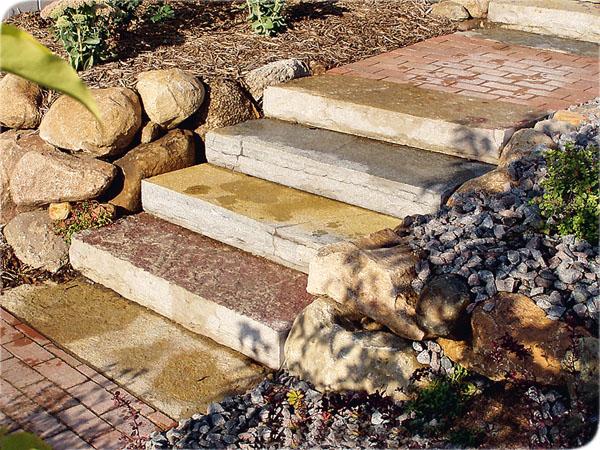 Как сделать ступеньки на склоне своими руками из бетона